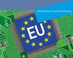 Titelbild BfDI-Broschüre zur Datenschtuz-Grundverordnung