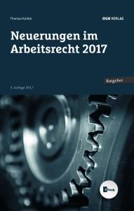 Cover Neuerungen im Arbeitsrecht 2017