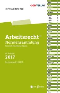 Cover: Arbeitsrecht. Normensammlung für die betrieblihce Praxis